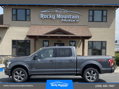 2015 Ford F-150 for sale at Rocky Mountain Motors in Idaho Falls ID