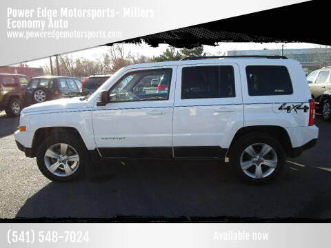 2015 Jeep Patriot for sale at Power Edge Motorsports- Millers Economy Auto in Redmond OR