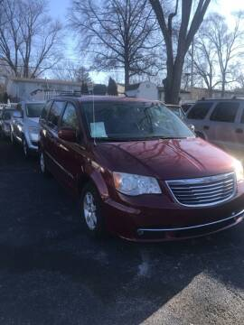 2012 Chrysler Town and Country for sale at Indy Motorsports in St. Charles MO