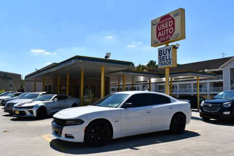 2016 Dodge Charger for sale at Houston Used Auto Sales in Houston TX
