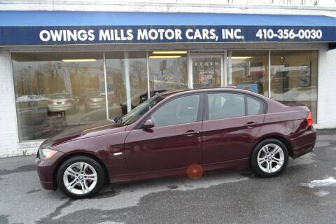 2008 BMW 3 Series for sale at Owings Mills Motor Cars in Owings Mills MD
