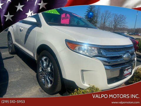 2013 Ford Edge for sale at Valpo Motors Inc. in Valparaiso IN
