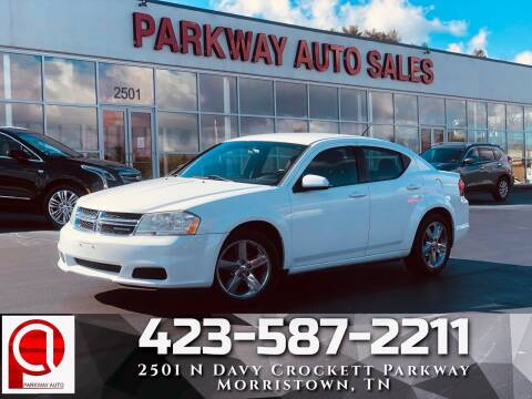 2011 Dodge Avenger for sale at Parkway Auto Sales, Inc. in Morristown TN