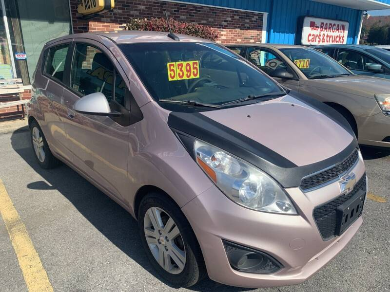 2013 Chevrolet Spark for sale at BURNWORTH AUTO INC in Windber PA