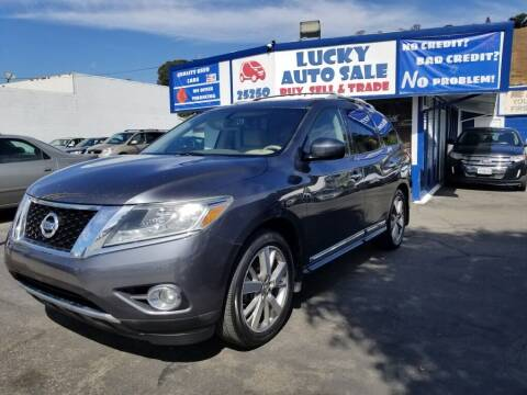 2014 Nissan Pathfinder for sale at Lucky Auto Sale in Hayward CA