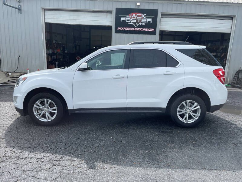 2017 Chevrolet Equinox for sale at Jack Foster Used Cars LLC in Honea Path SC