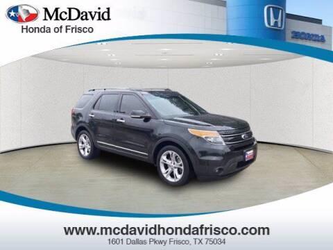 2015 Ford Explorer for sale at DAVID McDAVID HONDA OF IRVING in Irving TX