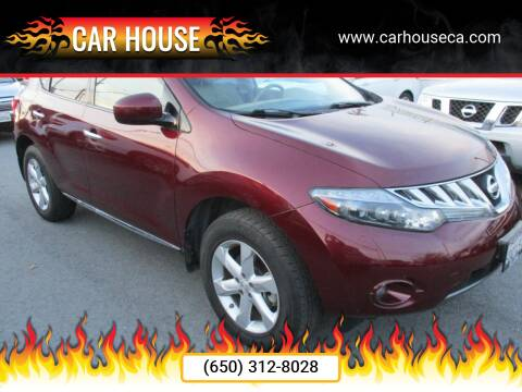 2009 Nissan Murano for sale at Car House in San Mateo CA