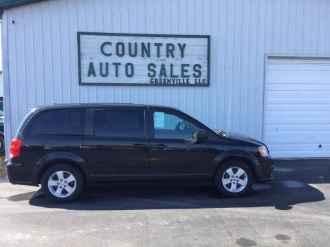 2013 Dodge Grand Caravan for sale at COUNTRY AUTO SALES LLC in Greenville OH