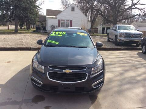 2016 Chevrolet Cruze Limited for sale at Harrison Family Motors in Topeka KS