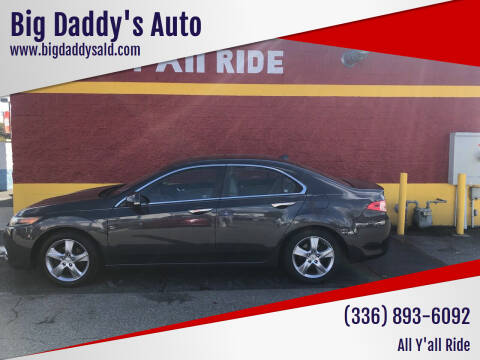 2011 Acura TSX for sale at Big Daddy's Auto in Winston-Salem NC