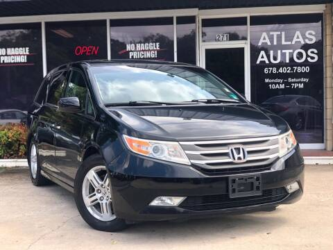 2012 Honda Odyssey for sale at ATLAS AUTOS in Marietta GA