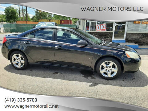 2009 Pontiac G6 for sale at Wagner Motors LLC in Wauseon OH