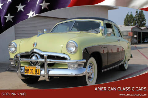 1950 Ford Crestline for sale at American Classic Cars in La Verne CA