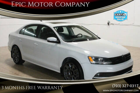 2015 Volkswagen Jetta for sale at Epic Motor Company in Chantilly VA