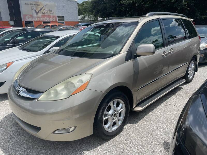 2006 Toyota Sienna for sale at P J Auto Trading Inc in Orlando FL