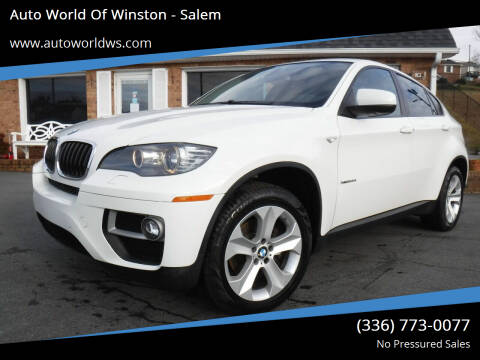 2013 BMW X6 for sale at Auto World Of Winston - Salem in Winston Salem NC