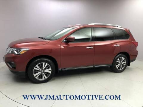 2017 Nissan Pathfinder for sale at J & M Automotive in Naugatuck CT