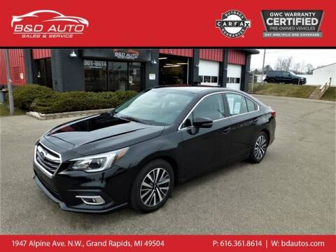 2018 Subaru Legacy for sale at B&D Auto Sales Inc in Grand Rapids MI