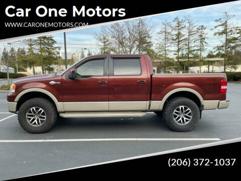 2007 Ford F-150 for sale at Car One Motors in Seattle WA