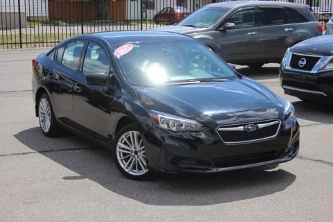 2017 Subaru Impreza for sale at Car Bazaar INC in Salt Lake City UT
