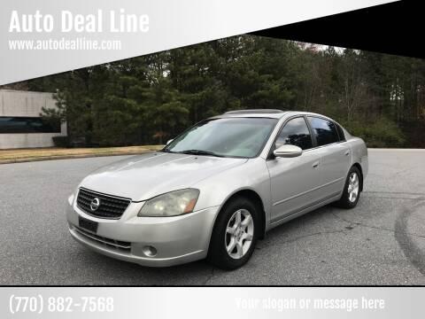 2006 Nissan Altima for sale at Auto Deal Line in Alpharetta GA