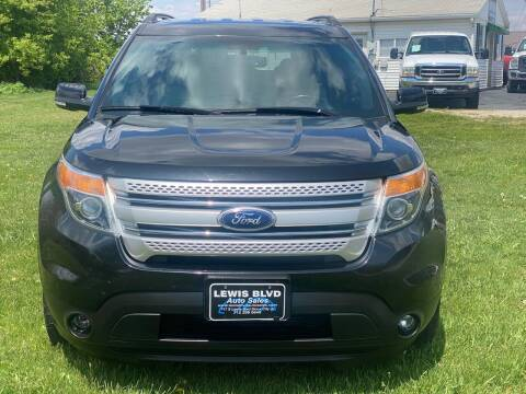 2015 Ford Explorer for sale at Lewis Blvd Auto Sales in Sioux City IA