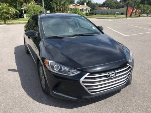 2017 Hyundai Elantra for sale at LUXURY AUTO MALL in Tampa FL