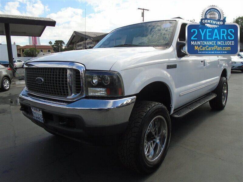 2000 Ford Excursion for sale at Centre City Motors in Escondido CA
