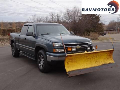 2006 Chevrolet Silverado 1500 for sale at RAVMOTORS in Burnsville MN