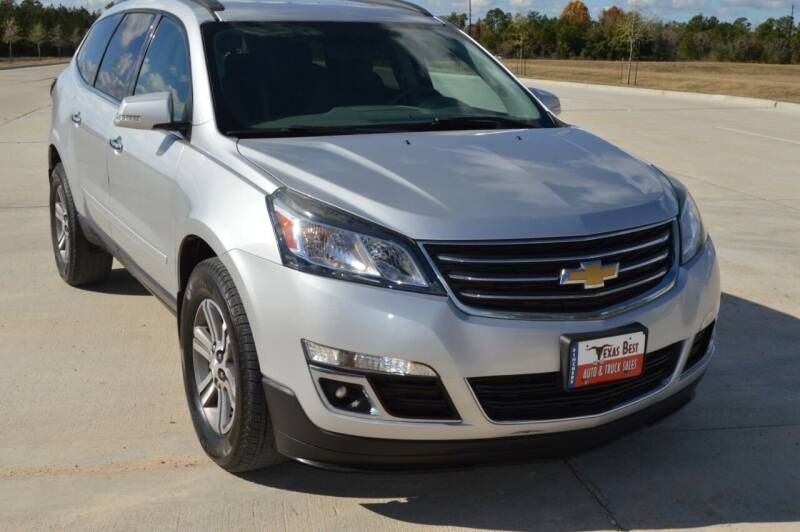 2017 Chevrolet Traverse for sale at Fincher's Texas Best Auto & Truck Sales in Tomball TX