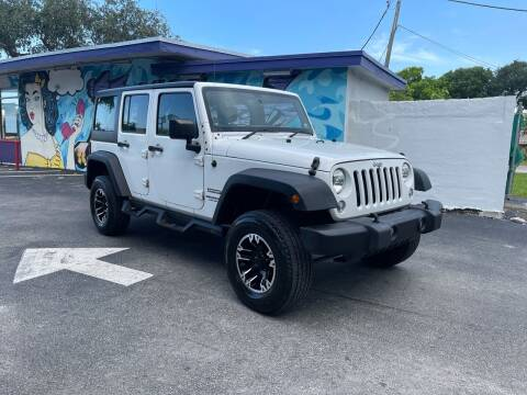 2015 Jeep Wrangler Unlimited for sale at Hard Rock Motors in Hollywood FL