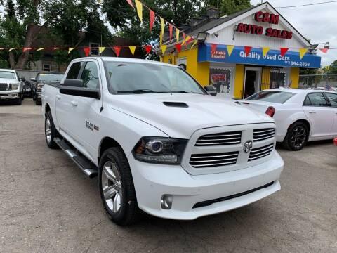 2014 RAM Ram Pickup 1500 for sale at C & M Auto Sales in Detroit MI