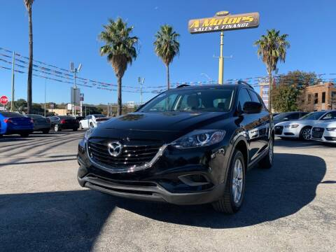 2013 Mazda CX-9 for sale at A MOTORS SALES AND FINANCE in San Antonio TX