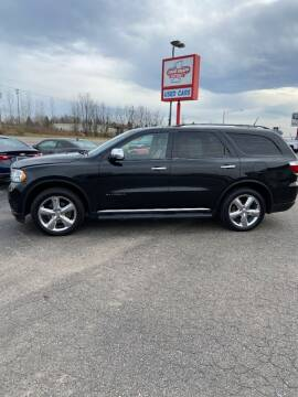 2012 Dodge Durango for sale at DAVE KNAPP USED CARS in Lapeer MI