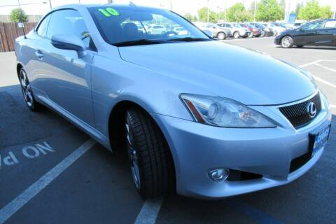 2010 Lexus IS 350C for sale at Choice Auto & Truck in Sacramento CA