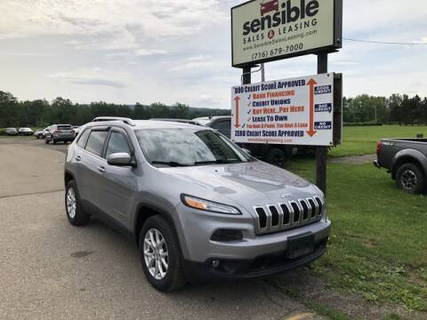 2015 Jeep Cherokee for sale at Sensible Sales & Leasing in Fredonia NY