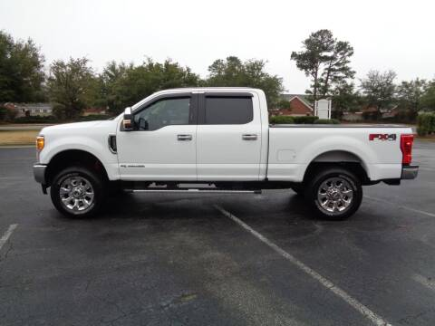 2017 Ford F-250 Super Duty for sale at BALKCUM AUTO INC in Wilmington NC
