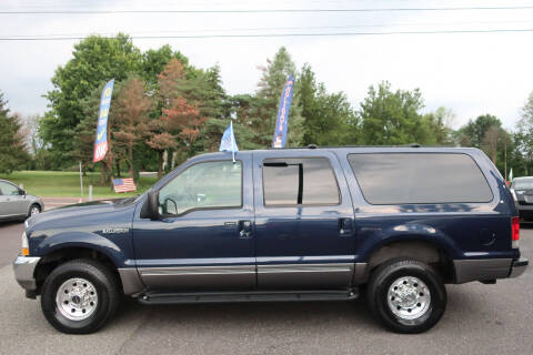 2002 Ford Excursion for sale at GEG Automotive in Gilbertsville PA
