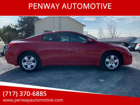 2008 Nissan Altima for sale at PENWAY AUTOMOTIVE in Chambersburg PA