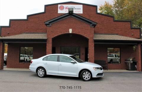 2017 Volkswagen Jetta for sale at Atlanta Auto Brokers in Cartersville GA