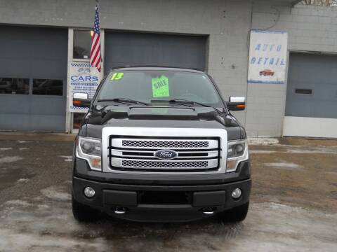 2013 Ford F-150 for sale at Shaw Motor Sales in Kalkaska MI