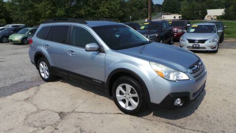 2013 Subaru Outback for sale at Unlimited Auto Sales in Upper Marlboro MD
