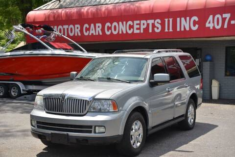 2006 Lincoln Navigator for sale at Motor Car Concepts II - Kirkman Location in Orlando FL