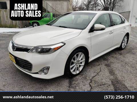 2013 Toyota Avalon for sale at ASHLAND AUTO SALES in Columbia MO