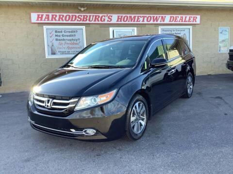 2015 Honda Odyssey for sale at Auto Martt, LLC in Harrodsburg KY