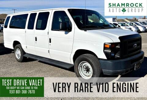 2012 Ford E-Series Wagon for sale at Shamrock Group LLC #1 in Pleasant Grove UT