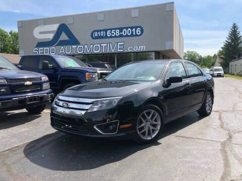 2012 Ford Fusion for sale at Sedo Automotive in Davison MI
