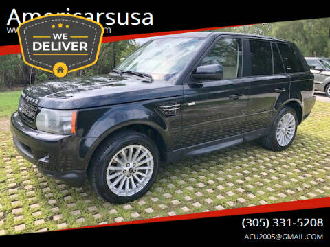 2012 Land Rover Range Rover Sport for sale at Americarsusa in Hollywood FL