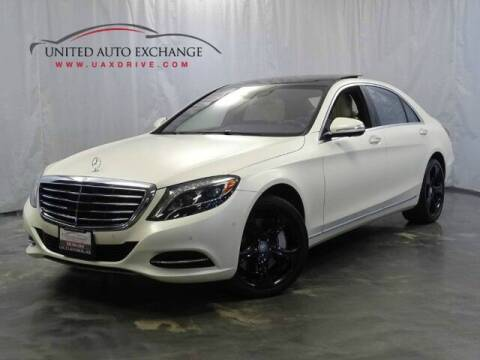 2015 Mercedes-Benz S-Class for sale at United Auto Exchange in Addison IL